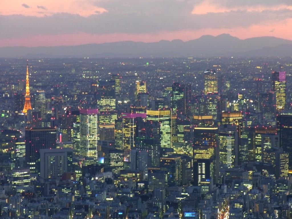 日本橋界隈の夜景